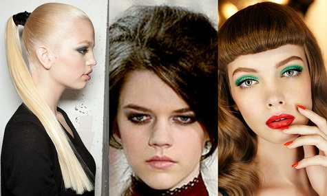 From Vintage Inspired to 'Wind Swept' Hair … Some of Fall/Winter 2012's Hottest Hair Trends to wear in South Africa Now!