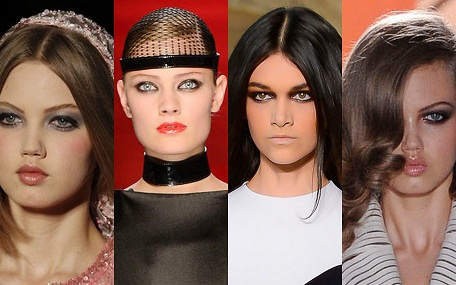 Gorgeous Beauty Looks found at the Autumn/Winter 2012-13 Couture Fashion Week in Paris!