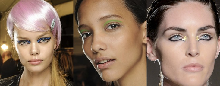 Cool Eye Make Up Looks from the NYFW Spring 2013 Shows