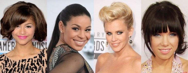 Eight Hair & Beauty Trends Spotted at The 2012 American Music Awards!