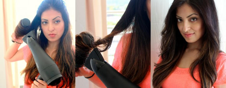 How To Get Loose Waves in One Easy Step While You Blow Dry Your Hair
